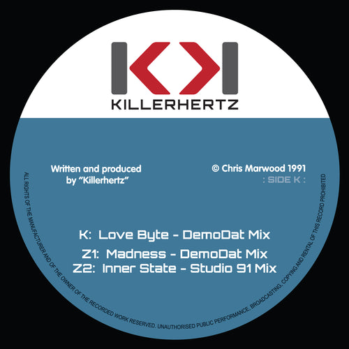Killerhertz 1991 - LOVEBYTE EP (12