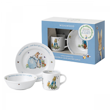 Wedgwood Peter Rabbit Boy 3 Piece Set