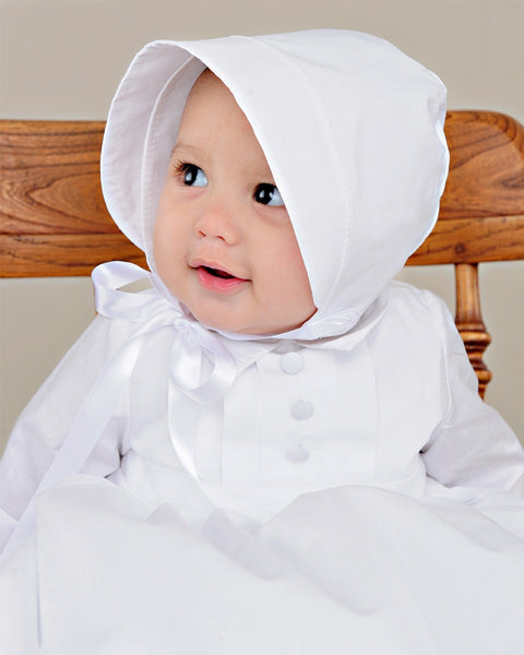 Boy's long cotton gown