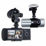 Vehicle GPS Dashboard Camera Dual Lens