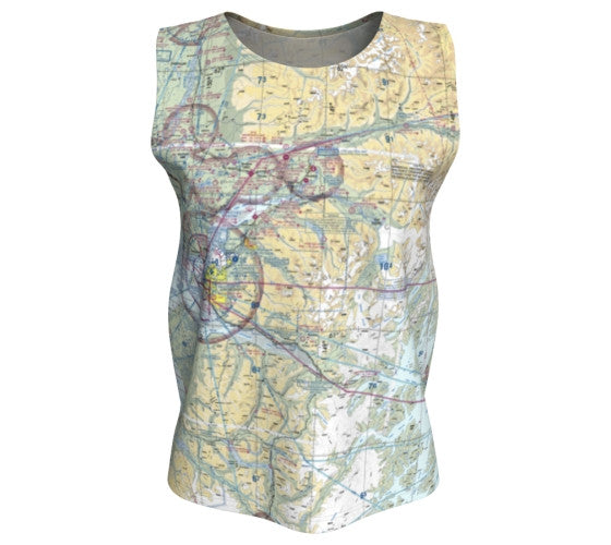 Sectional Charts - Loose Tank: Long