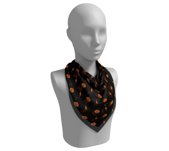 Ghouls On Board - Square Scarf