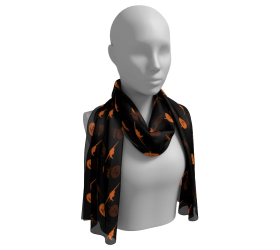 Ghouls On Board - Long Scarf