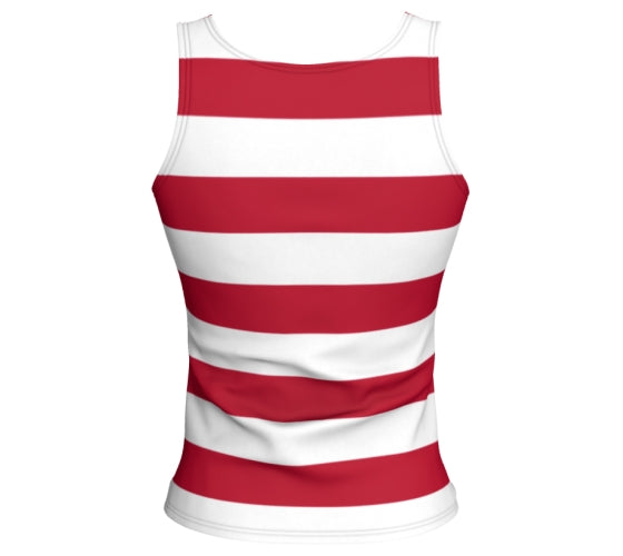Types & Stripes - Fitted Tank