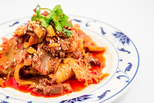 Beef Tendon & Trip in Chili Sauce - 夫妻肺片