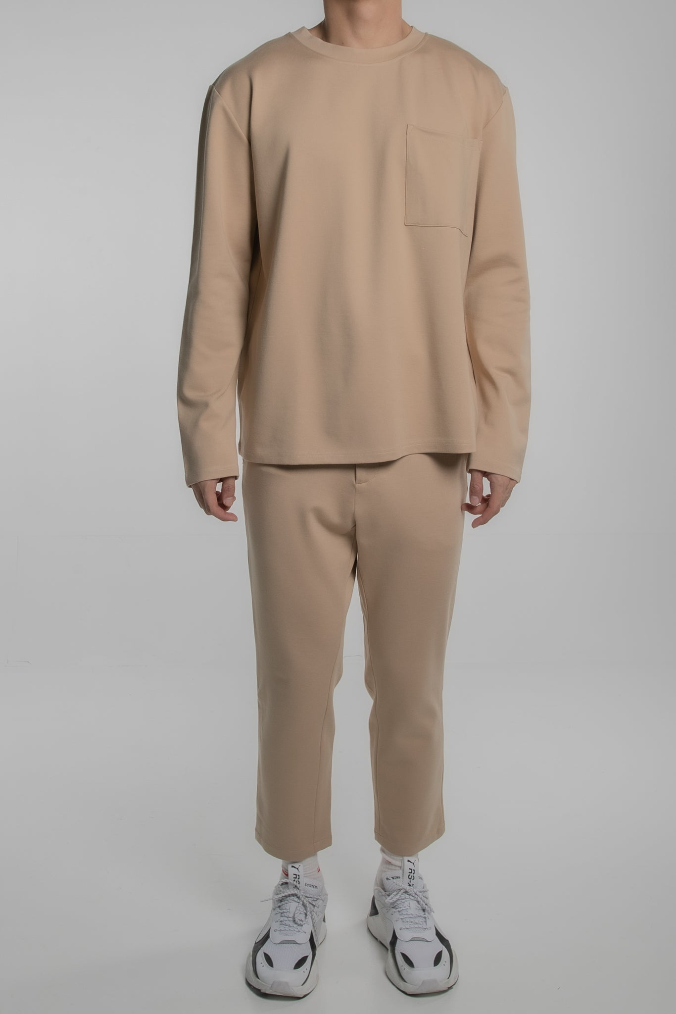Pocket Comfort Shirt (Beige)