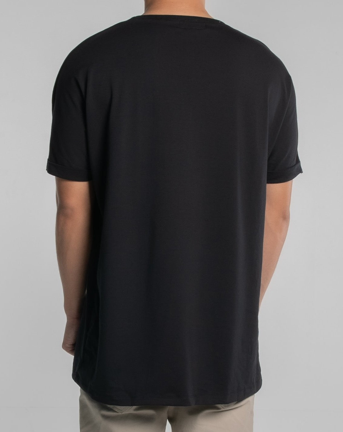 The Authority T-Shirt Folded Sleeve (Black)