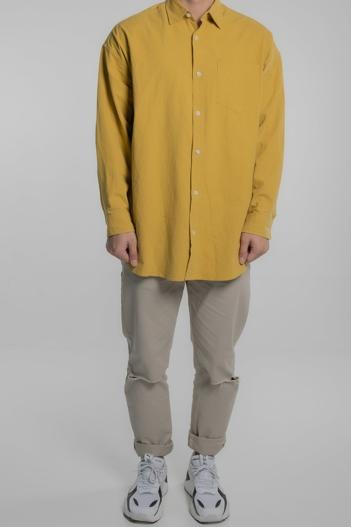 The Packet Shirt (Mustard)