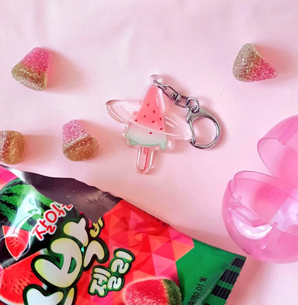 Watermelon Ice Cream Bar Charm
