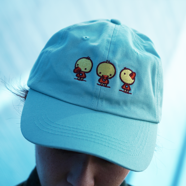 Duck Dad Hat by Boya Sun