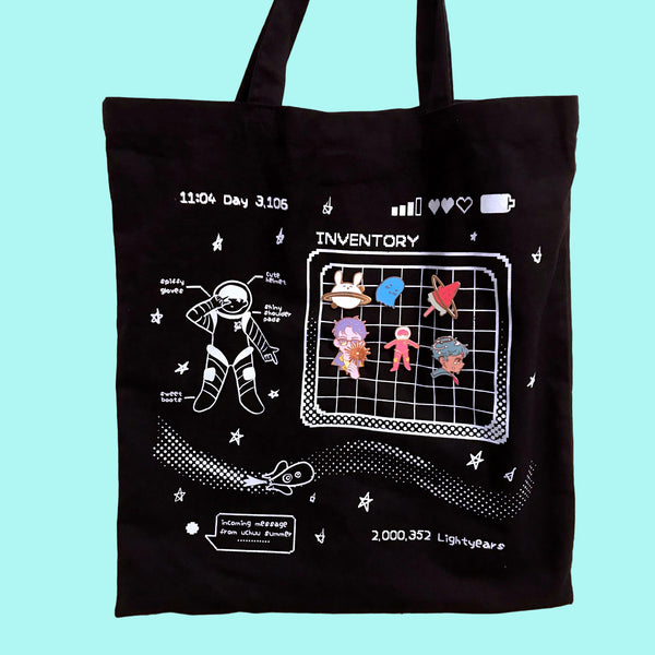 Space RPG Pin Display Tote