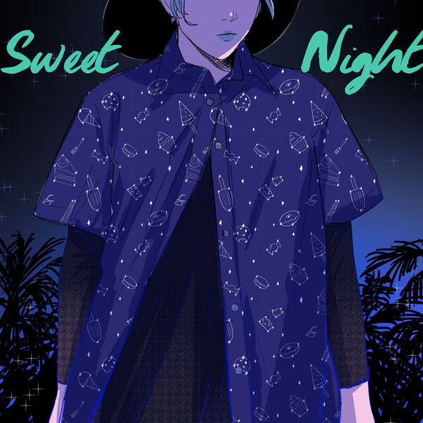 Sweet Night Hawaiian Shirt