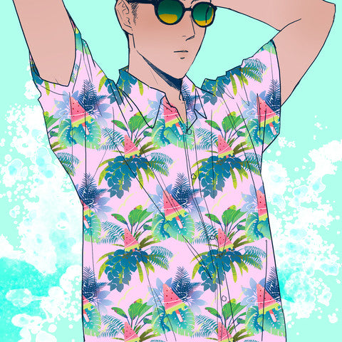 Watermelon Pop Hawaiian Shirt