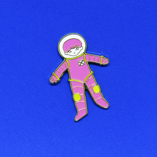 Space Boy Pin