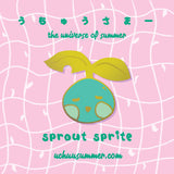 Sprout Sprite Pin