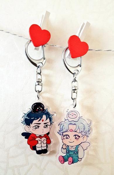 Ujuu and Kuu Acrylic Charms