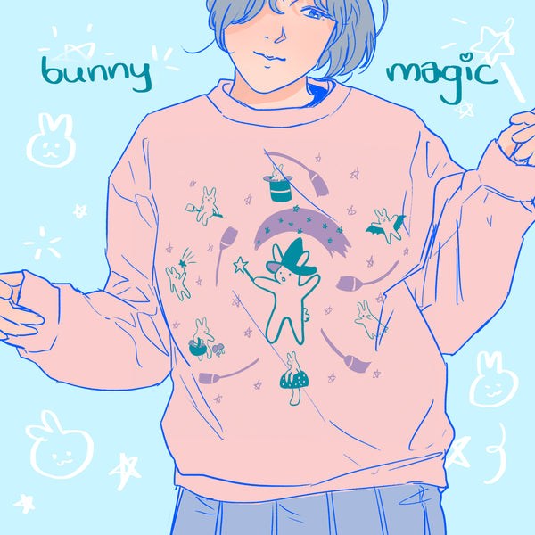 Bunny Magic Sweater