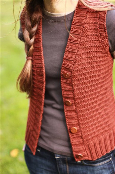 Woods Road Vest Pattern
