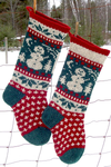 Annie's Woolens Christmas Stocking Kit