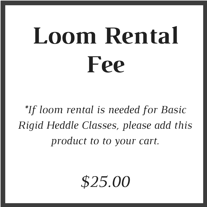 Cricket Loom Rental Fee