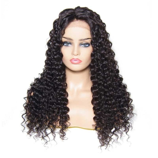 Brazilian Deep Spiral Lace Wig