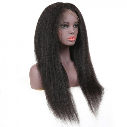 Brazilian Kinky Straight Wig Full Lace