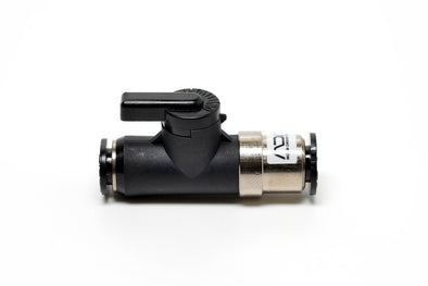 ADA Ball Valve SF-V Black, Control CO2 by turning the handle on or off.