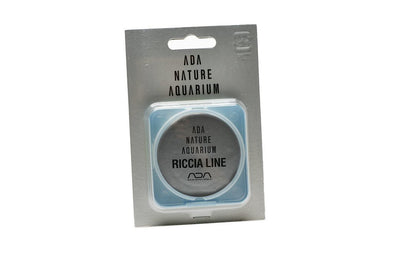 Riccia Line for attaching plants to stone and driftwood in nature aquariums.