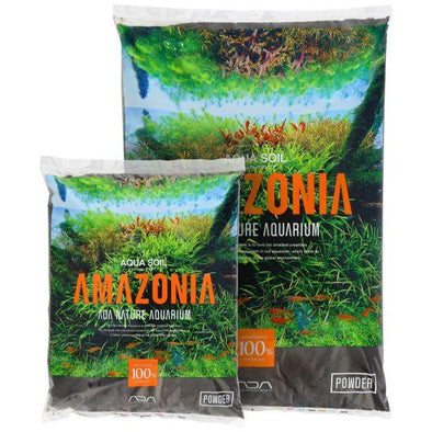 Amazonia Aqua Soil Powder for nature aquariums planted tanks canada.