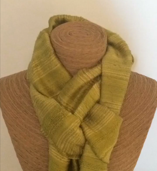 Styling Scarves - French Knot