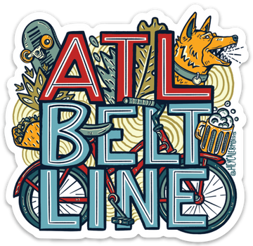 Atlanta Beltline Sticker