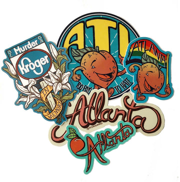 Atlanta Sticker Pack