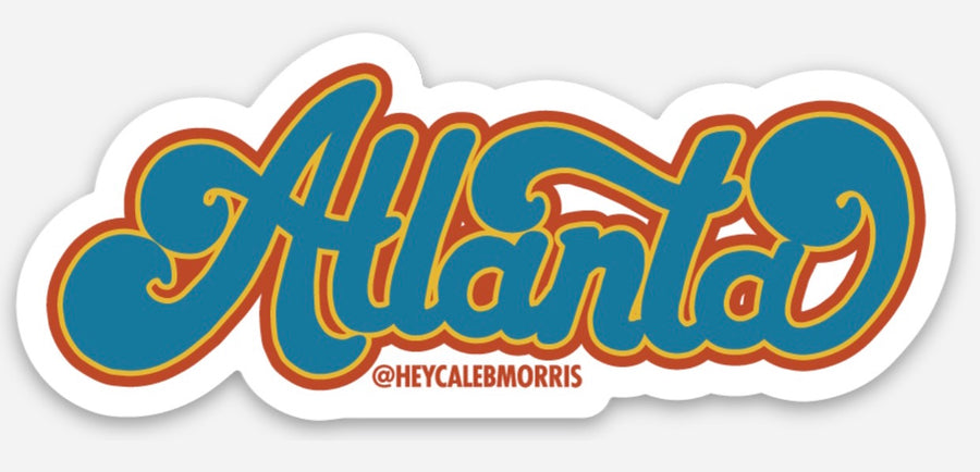 Atlanta Swoop Sticker