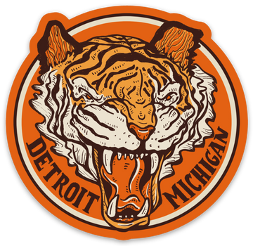 Detroit Tiger Sticker