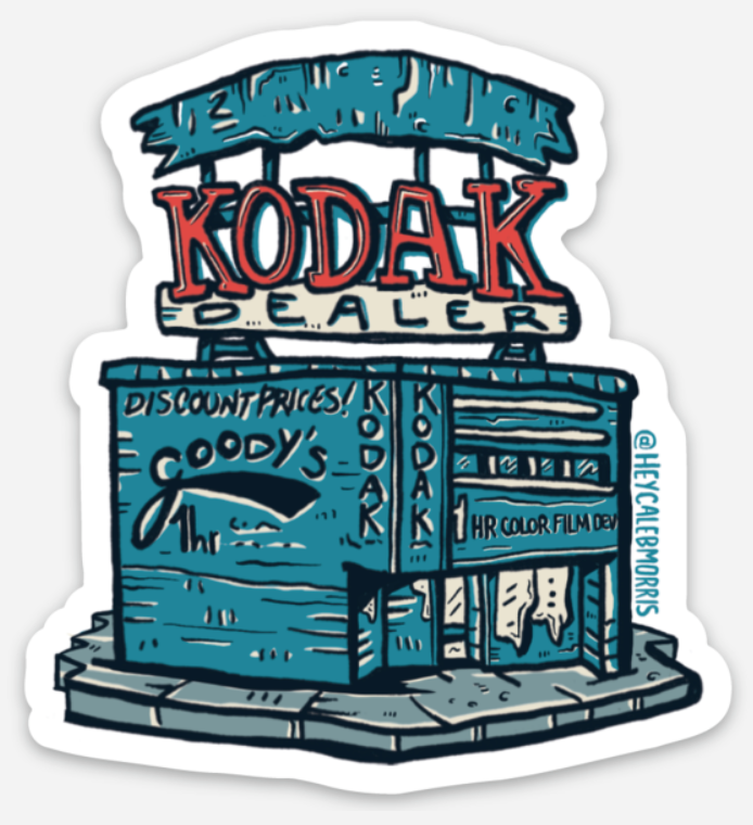 Atlanta Kodak Building Sticker