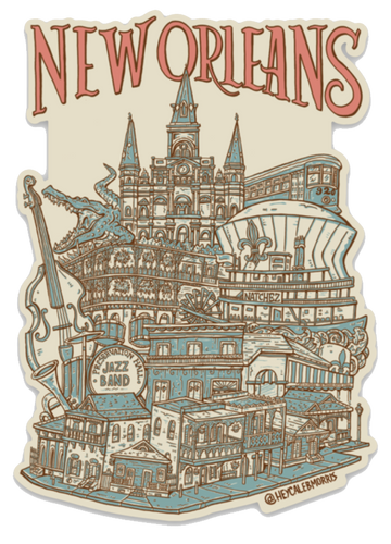 New Orleans Sticker
