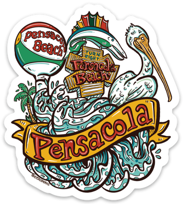 Pensacola Sticker