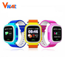 Vwar GPS Q90 Touch Screen WIFI Positioning Smart Watch Children - Luisa's World of Fashion