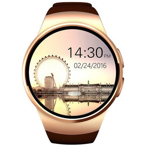 [Genuine] Hot Selling  KW18 Bluetooth smart watch full screen Support - Luisa's World of Fashion
