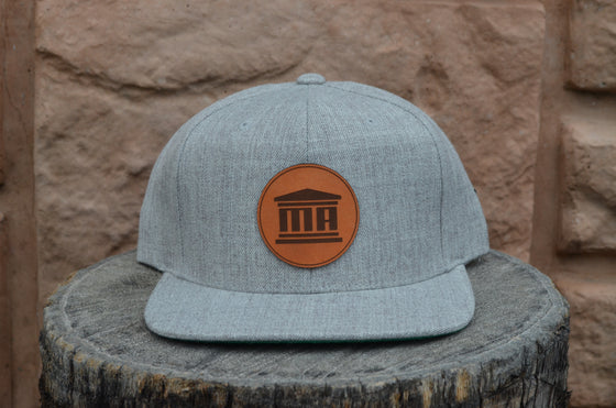 The Classic Pillar Heather Grey