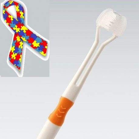 Three Sided Toothbrush For Autism Amp Special Needs