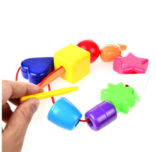 Stringing Beads Fine Motor Skills Toy Different Not Less