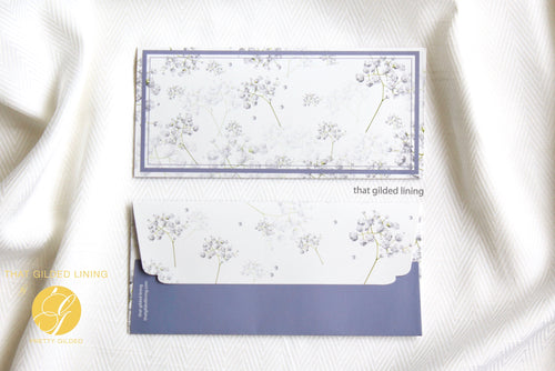 Everyday Money Envelopes- Pack of 20- Lavender Spring