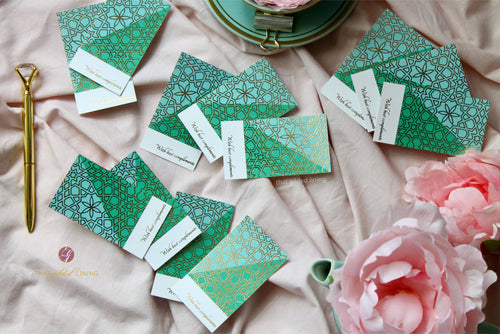 SALE- Gift Tags- Pack of 30 - Gilded Glam