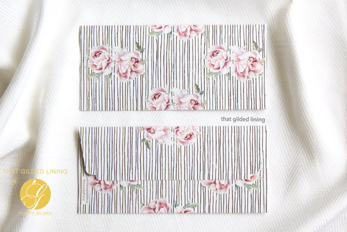 Everyday Money Envelopes- Pack of 20- Rose Bud