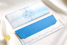 Everyday Money Envelopes- Pack of 20- Azure Rose (non-customisable)