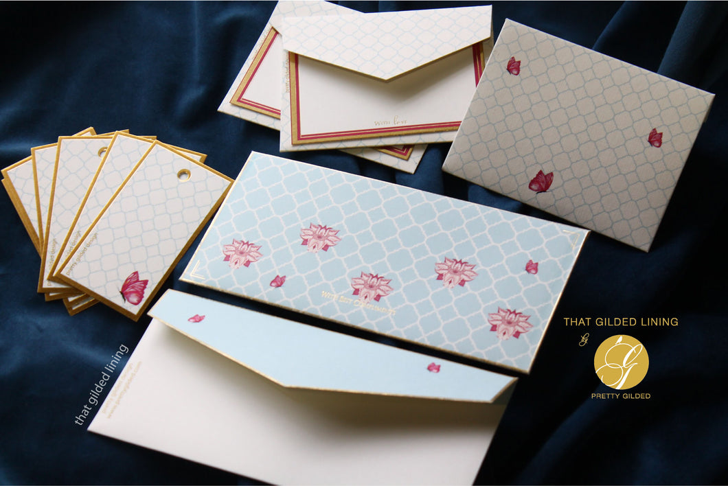 SALE Money Envelopes- Casablanca- Pack of 50 & 100