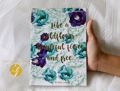 Wildflower (Floral)- Notebook