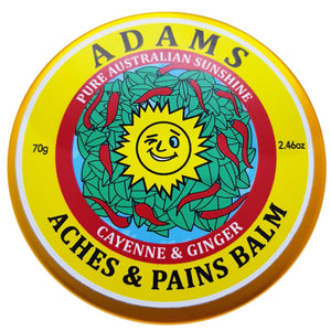 Aches and Pains Balm natural