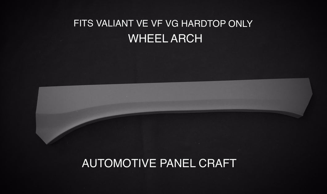 FITS VALIANT VE VE VF VG HARDTOP WHEEL ARCH